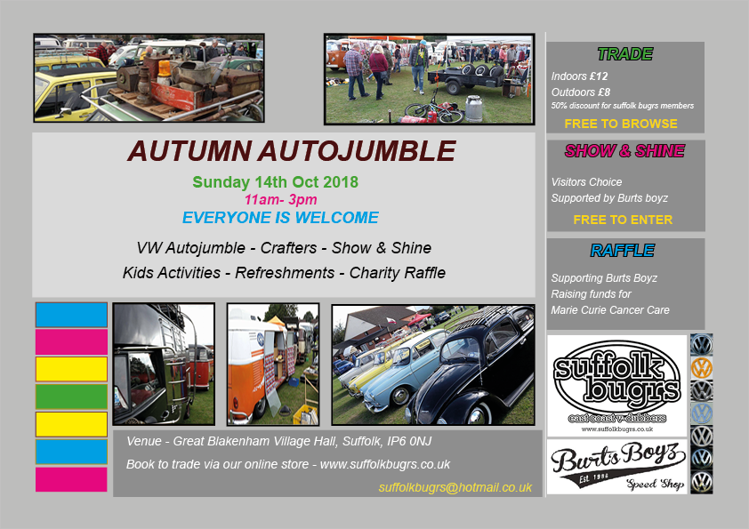 Autumn Autojumble plot 2018