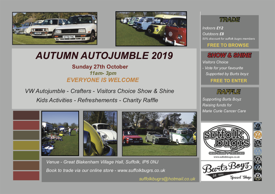 Autumn Autojumble plot 2019