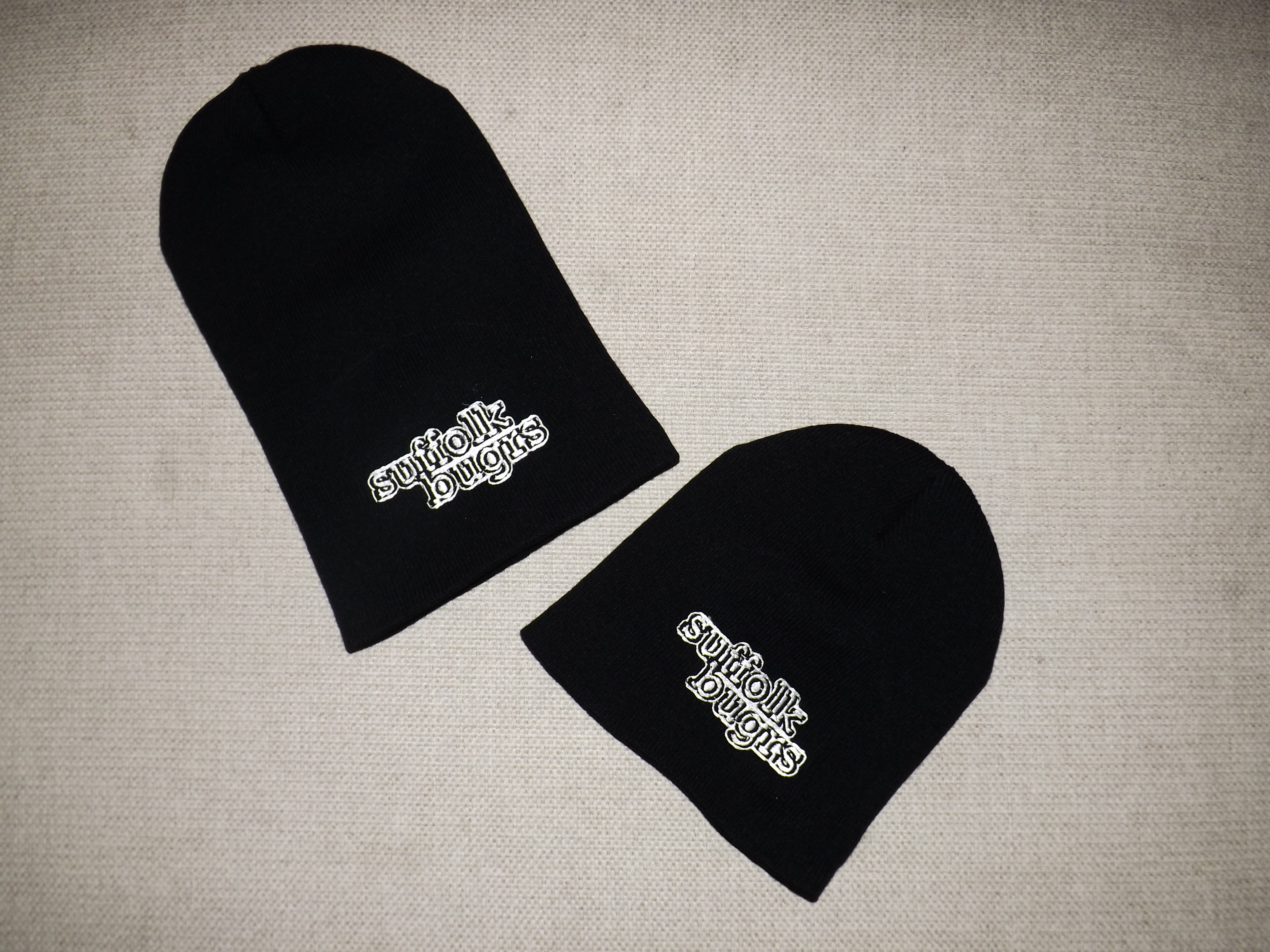 Suffolk Bugrs Beanies